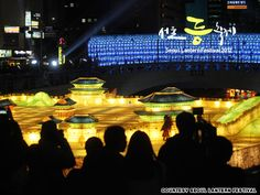 The 2012 Seoul Lantern Festival: The 2012 Seoul Lantern Festival is Korea's largest lantern festival to date, with approximately 35,000 lanterns set up along Cheonggyecheon, the public stream park in downtown Seoul.