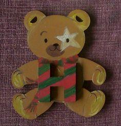 College scarf bear. For a fan of Harry Potter maybe by ArtZeeboze