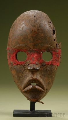African Carved Wood Mask | Sale Number 2506, Lot Number 233 | Skinner Auctioneers