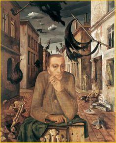 Felix Nussbaum (German-Jewish: 1904 – 1944)