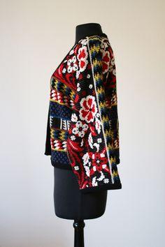 Currently on sale via my ebay: this amazing vintage Kenzo jacket. Size S