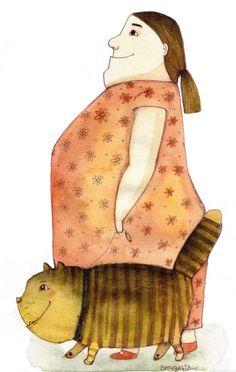 ilustración de Марися Рудcька