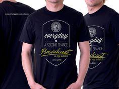 Shirt design airlangga broadcast education