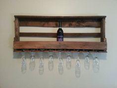 Home Made Wine Rack, great idea.