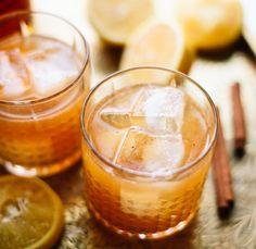 Quelque part entre le Sortilège et le Fireball, c'est un cocktail classique réinventée pour la saison des sucres...