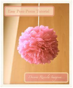 Tutorial Pompones Fáciles - Easy Pom-Pom Tutorial
