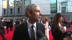 Martin Freeman on the Red Carpet at The Olivier Awards 2014 // You're so right, Martin, so right!