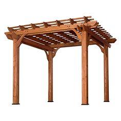 Cedar Pergola, Small Pergola, Pergola Swing, Pergola Attached To House, Deck With Pergola, Wooden Pergola, Covered Pergola, Backyard Pergola, Patio Roof