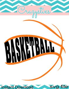 Basketball svg child svg svg files for silhouette by CrazyStixs