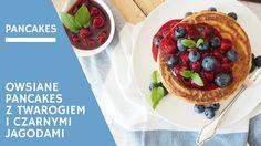 Okiem Dietetyka | Pakcakes owsiane z jagodami i białym serem - Okiem Dietetyka