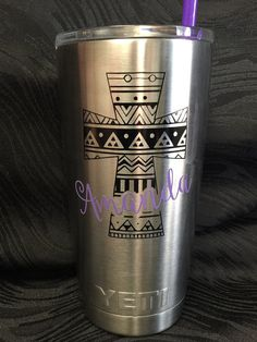 Yeti Tumbler Decal By SimpleSouthernSwag On Etsy Wwwetsycom - Vinyl cup decals