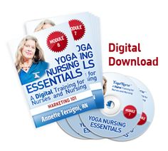 Yoga Nursing Essentials Online Training + Certification Available Now. 10 NCEs.