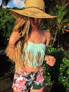 Salt in the air. Sand in my hair. Monyca Byrne Wickey style #DAREYOURSELF