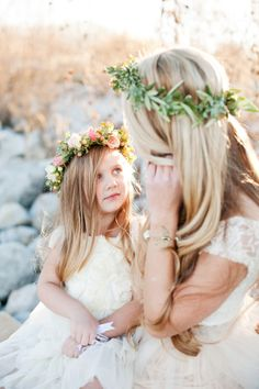 Bridal sessions just might be one of my favorite thingsever. So pair some fabulous vendors with a crazy cool twist on the typical bridal session (an awesome mother + daughter element) and, well... color me happy, lovelies. Because this isn't just any old bridal
