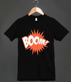boom!American Apparel Unisex Fitted Tee / Black