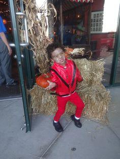 Michael Jackson  Thriller  Costume.  sc 1 st  Pinterest & Michael Jackson Halloween Kids Costume | Halloween Ideas: Make up ...
