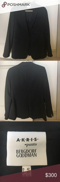 AKRIS for Bergdorf Goodman blazer Classic Women's blazer. No signs of wear. Akris Punto Jackets & Coats Blazers