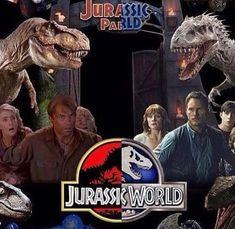 Jurassic Park vs Jurassic World. Jurassic Park Trilogy, Jurassic Movies, Jurassic Park 1993, Jurassic World 2015, Jurassic World Dinosaurs, Jurassic World Fallen Kingdom, World Movies, Sci Fi Movies, Michael Crichton