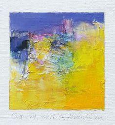 October 29 2016 9 cm x 9 cm Oil on canvas