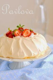 I tried it from Donna Hay's latest book, The New Classics, which my wife brought from Australia, Pasta Cake, Meringue Pavlova, Food Clipart, Anna Pavlova, Australian Food, Food Words, Food Cakes, My Favorite Food, Catering