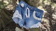 Check out this item in my Etsy shop https://www.etsy.com/listing/519127173/jean-lace-shorts-boho-denim-gypsy-boho