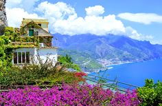 We start off in Ravello, in the gardens of the Villa Rufolo. Breath in the fragrance of lemons, jasmine and sea and gaze at the little towns dotting the coast far below. It is down there we will head. Quality Hotel, Mamma Mia, Cinque Terre, Sorrento, Sardinia, Amalfi Coast, Beautiful Islands, Amazing Destinations, Oahu