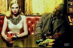 Leveled Magazine – Miles Aldridge: Eye-Popping Color & The Acid Tinged Results