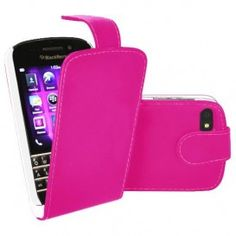 BlackBerry Q10 Flip Case – Hot Pink