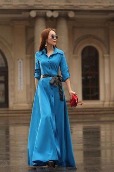 Модное платье-рубашка 2018 года для полных и стройных на фото. С чем носить модное платье рубашку. Модное платье рубашка: в клетку, длинное.