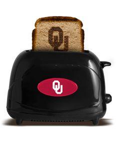 Oklahoma Sooners Black UToast Elite Toaster on zulily today!