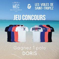 tentez votre chance pour remporter un polo Doris Les Voiles de Saint-Tropez en édition limitée et issu de la collection 2017. Bonne chance à tous.