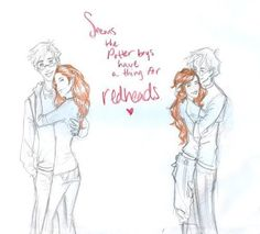 lily evans and james potter humor - Google Search