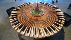 Repurposed pianos | photo of repurposed piano keyboard