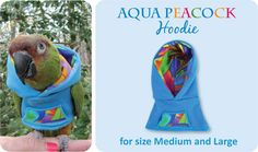 Check out the deal on Jr. Style Aqua Peacock Hoodie at Avian Fashions