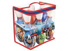 Jogo de Boliche Marvel Avengers Assemble - Lider Brinquedos