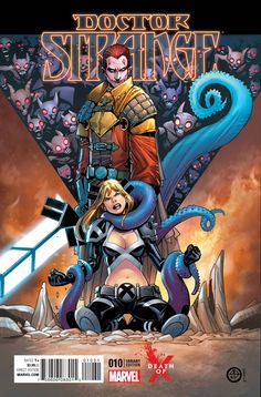 """MARVEL COMICS (W) Jason Aaron (A) Chris Bachalo (CA) Kevin Nowlan THE THRILLING CONCLUSION OF """"LAST DAYS OF MAGIC""""! • The Sorcerer Supreme must learn some new tricks and utilize new weapons if he's to"""