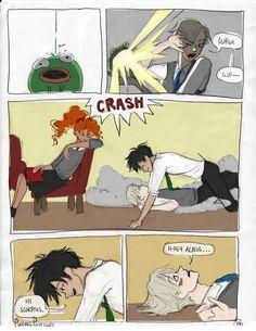 Harry Potter Fan Art, Harry Potter Cursed Child, Harry Potter Comics, Harry Potter Feels, Draco Harry Potter, Harry Potter Characters, Albus Severus Potter, Drarry Fanart, Harry Potter Ilustraciones