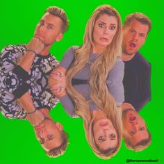 grace helbig - lance bass - james corden - the grace helbig show // @therosewoodbook on ig