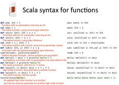 Scala Syntax in 7 images Inference, Big Data, Mathematics, Scale, Math, Weighing Scale, Libra, Balance Sheet, Ladder
