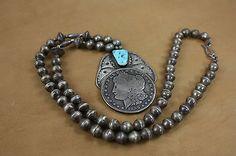 Vintage Morgan Silver Dollar Necklace -*-*-80+
