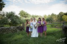 Old Sturbridge Village Wedding // Bridesmaids