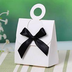 Ωραίο κουτί εύνοια με κορδέλα Bowknot (Σετ 12) – EUR € 1.22