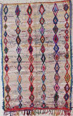 Tapijt uit Marokko 200/128 - Michel Antoine Oosterse Tapijten en Kelims