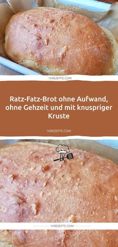 Ratz-Fatz-Brot ohne Aufwand, ohne Gehzeit und mit knuspriger Kruste – Rezepte Ratz-Fatz bread without effort, without walking time and with a crispy crust – recipes Easy Smoothie Recipes, Easy Smoothies, Easy Cookie Recipes, Good Healthy Recipes, Healthy Desserts, Snack Recipes, Dinner Recipes, Cupcakes Amor, Easy To Digest Foods