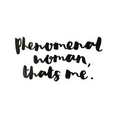 Phenomenal woman, that's me. Words Quotes, Wise Words, Me Quotes, Sayings, Qoutes, Gemini Quotes, Best Inspirational Quotes, Typography Quotes, Monday Motivation