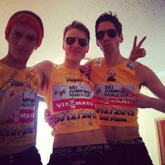 Norway: the best skijumping team in the world :)