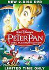 Peter Pan (DVD, 2007, 2-Disc Set, Platinum Edition) #ad