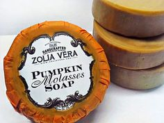 Spiced Pumpkin Molasses Soap!!!