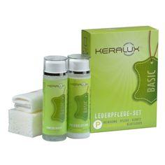KERALUX® Lederpflege-Set P  Ideal für die regelmäßige Reinigung und Pflege von pigmentierten Glattledern wie Semi-Anilin (Leder mit leichter Farbdeckschicht) und gedeckten Glattledern (Leder mit starker Farbdeckschicht).