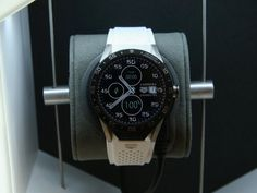 The newly unveiled Tag Heuer Connected Watch.